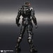 DC Man Of Steel Play Arts Kai Action Figure General Zod - Image 3