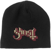 Ghost - Logo Men's Beanie Hat - Black