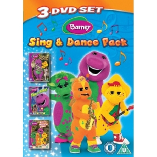 Barney Sing Dance Pack Songs From The Park Sing That Song