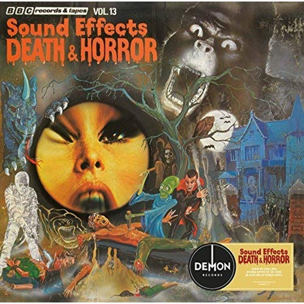 Various Artists - Bbc Sound Effects No. 13 - Death And Horror Vinyl