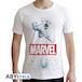 Marvel - Marvel Hulk Men's X-Small T-Shirt - White - Image 2