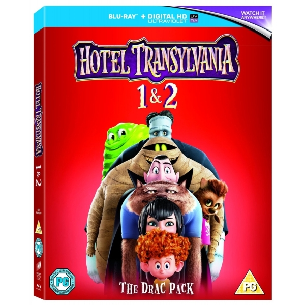 Hotel Transylvania 1 And 2 Blu-ray