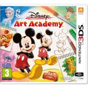 Disney Art Academy 3DS Game