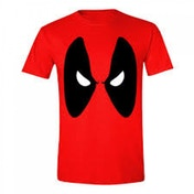 Marvel Comics Men's Deadpool Angry Eyes XX-Large T-Shirt