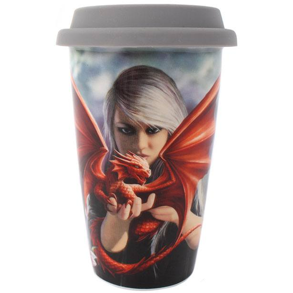 Anne Stokes Dragon Kin (Pack of 4) Travel Mug