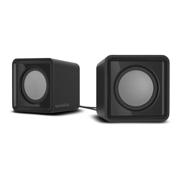 Speedlink Twoxo Stereo Compact Cube USB Powered Speakers