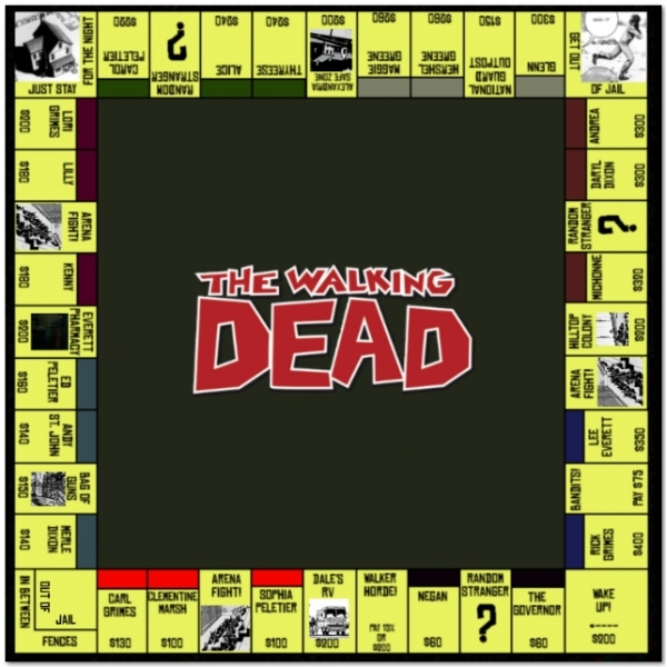 The Walking Dead Monopoly Survival Edition - Image 2