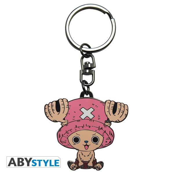 One Piece - Chopper Metal Keyring