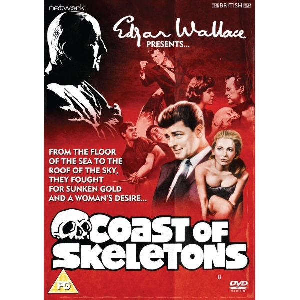 Edgar Wallace Presents: Coast of Skeletons DVD
