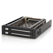 StarTech 2 Drive 2.5in Trayless Hot Swap SATA Mobile Rack Backplane