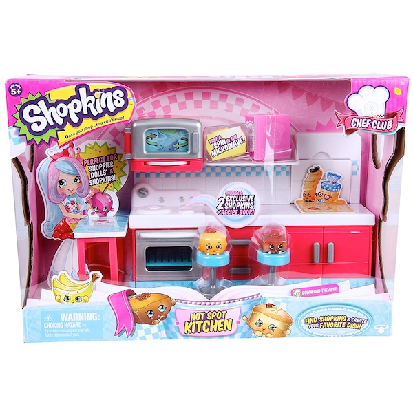 Shopkins Series 6 Chef Club Hot Spot Kitchen