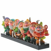 Ex-Display Seven Dwarfs (Snow White) Disney Britto Figurine Used - Like New