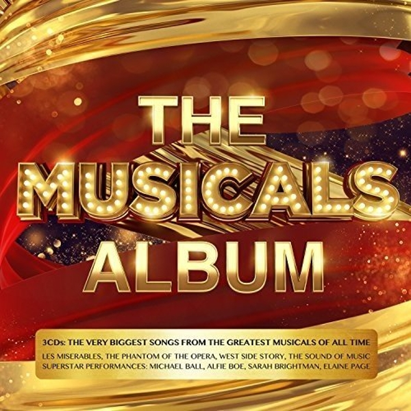 The Musicals Album CD