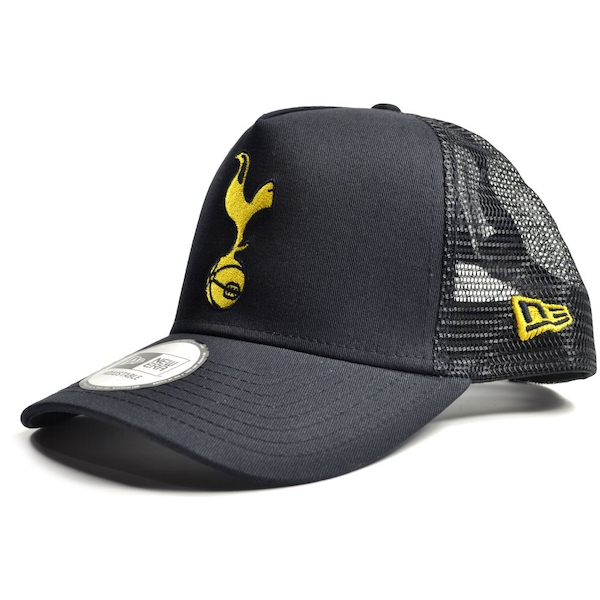 New Era Spurs Gold Cockerel Trucker Cap