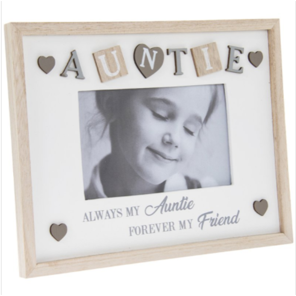 "Sentiments Frame Auntie 4X6"" By Lesser & Pavey"
