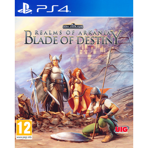 Realms of Arkania Blade of Destiny PS4 Game