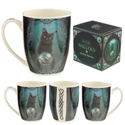 Rise of the Witches Cat Lisa Parker New Bone China Mug