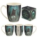 Rise of the Witches Cat Lisa Parker New Bone China Mug - Image 5