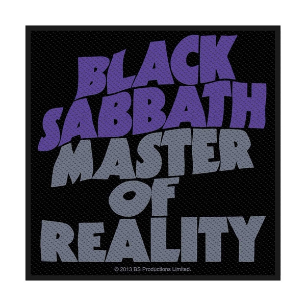 Black Sabbath - Master Of Reality Standard Patch