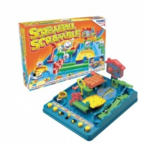 Ex-Display Tomy Screwball Scramble Board Game Used - Like New