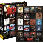 AC/DC Discography 1000 Piece Puzzle