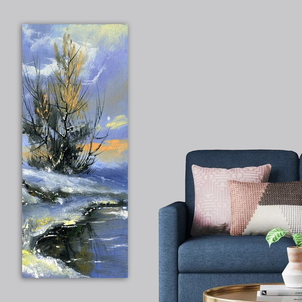 DKY323421124_50120 Multicolor Decorative Canvas Painting
