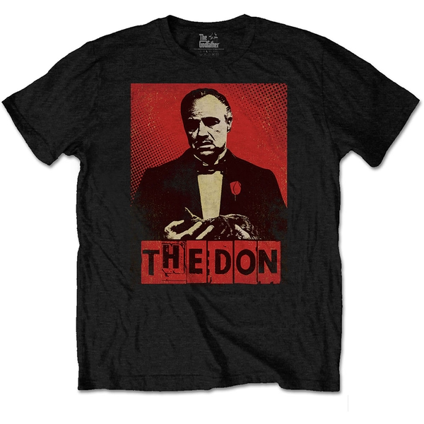 The Godfather - The Don Unisex Small T-Shirt - Black