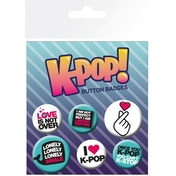 K-POP Quotes Badge Pack