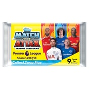 EPL Match Attax 2017/18 Trading Card Game - 10 Packs