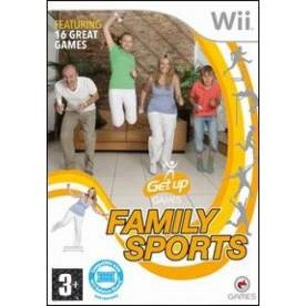 Get Up Games Family Sports Game Wii