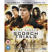 Maze Runner: The Scorch Trials 4K UHD Blu-ray