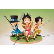 Luffy Ace Sabo (One Piece Zero) Bandai Figure