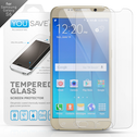 YouSave Accessories Samsung Galaxy S6 Glass Screen Protector X 2 - Clear