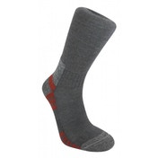 Bridgedale WoolFusion Trail Men's Sock, Gunmetal Grey - Large