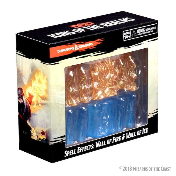 Dungeons & Dragons Spell Effects - Wall of Fire & Wall of Ice