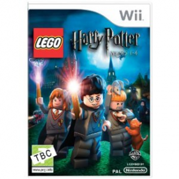 Lego Harry Potter Years 1-4 Game Wii