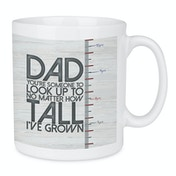 Look Up To Dad Large Fathers Day Mug