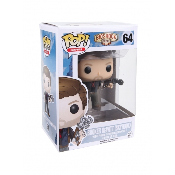 Booker DeWitt with Sky-Hook (BioShock) Funko Pop! Vinyl Figure - Image 2