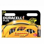Duracell Plus AA 12 Pack Batteries