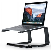 Elevator Desktop Stand for Laptops (Black/Clear)