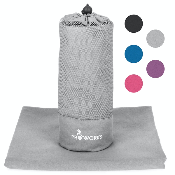 Proworks Microfibre Towel - Grey XL