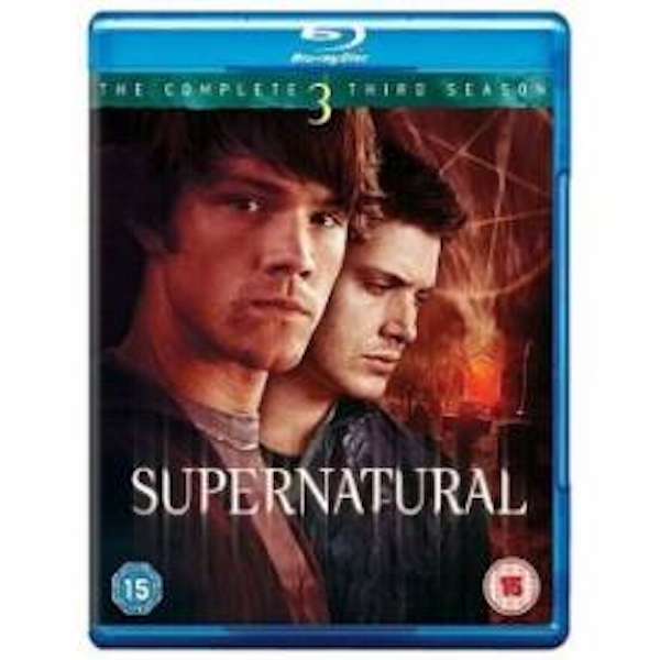 Supernatural Complete Third Season 3 Blu-Ray