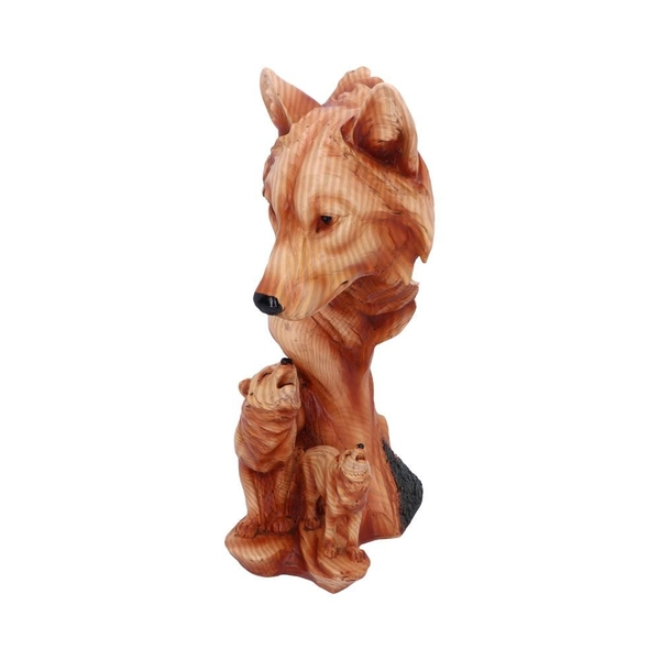Natural Song Howling Wolves Bust