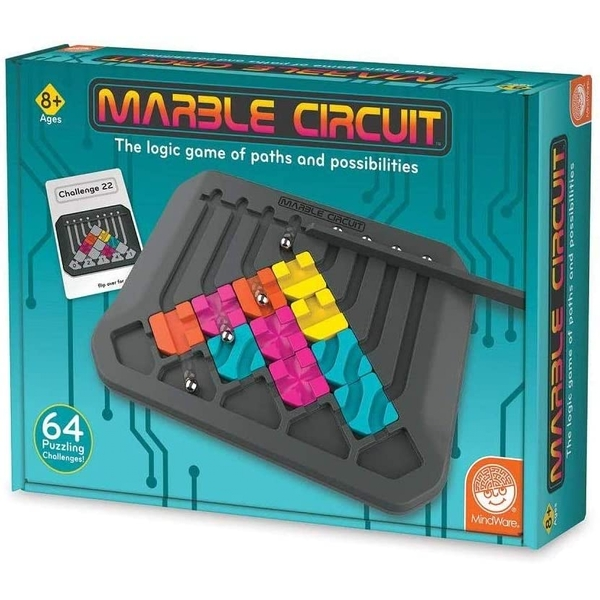 Marble Circuit Puzzle