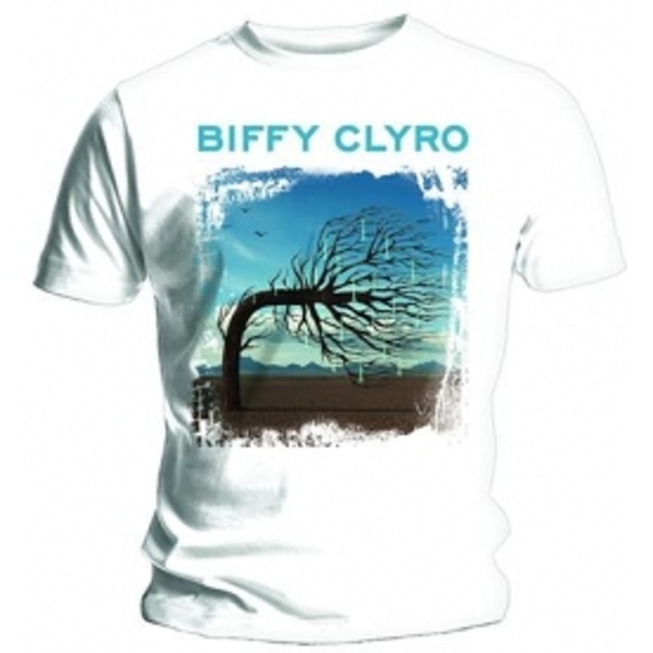 Biffy Clyro Opposites White T Shirt: X Large