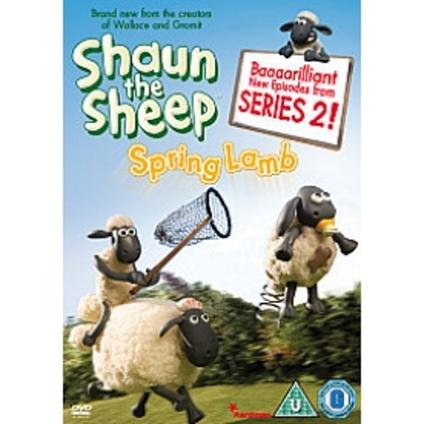 Shaun The Sheep Spring Lamb DVD