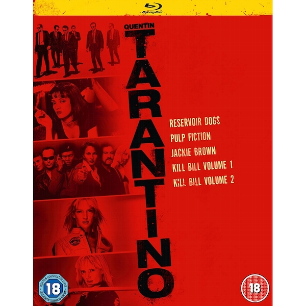 Quentin Tarantino Collection Blu-ray