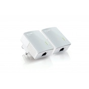 TP-Link TL-PA4010KIT V1.20 AV600 Nano Powerline Adapter Starter Kit UK Plug