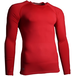 Precision Essential Base-Layer Long Sleeve Shirt Adult Red - Medium 38-40 Inch - Image 2