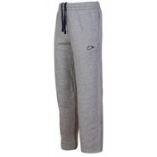 Nike Fleece Open Hem Tracksuit Bottoms Jog Pants Black X-Large Grey